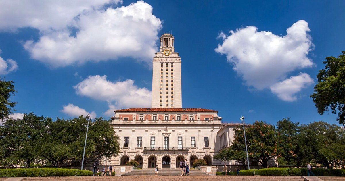 university of Texas online