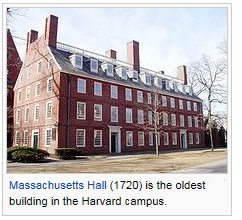 Massachutts Hall Harvard University