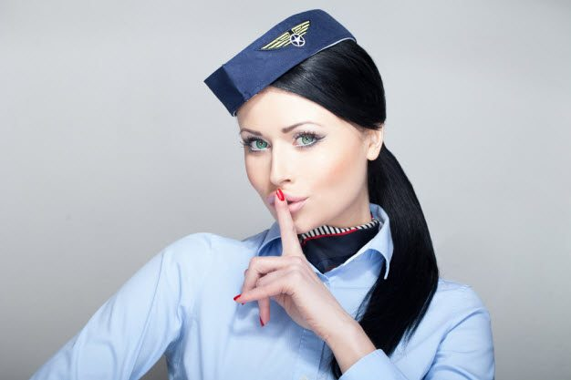 Sexy female jobs - female Flight Attendant