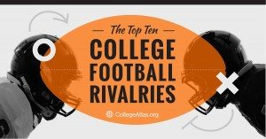 college football rivalries