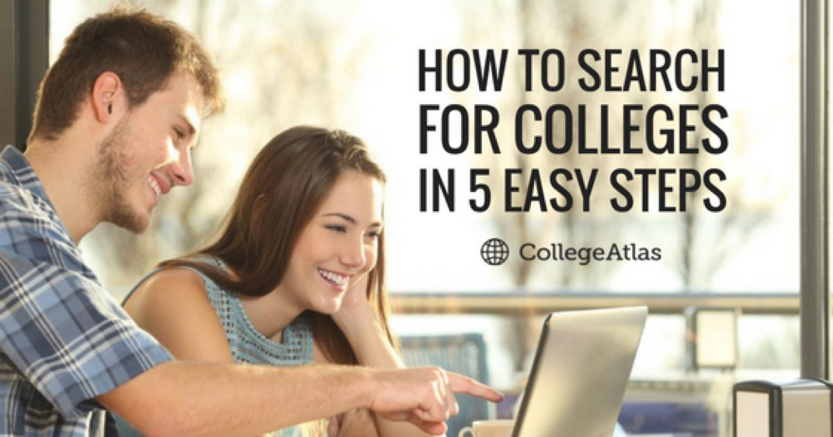 how to search for colleges
